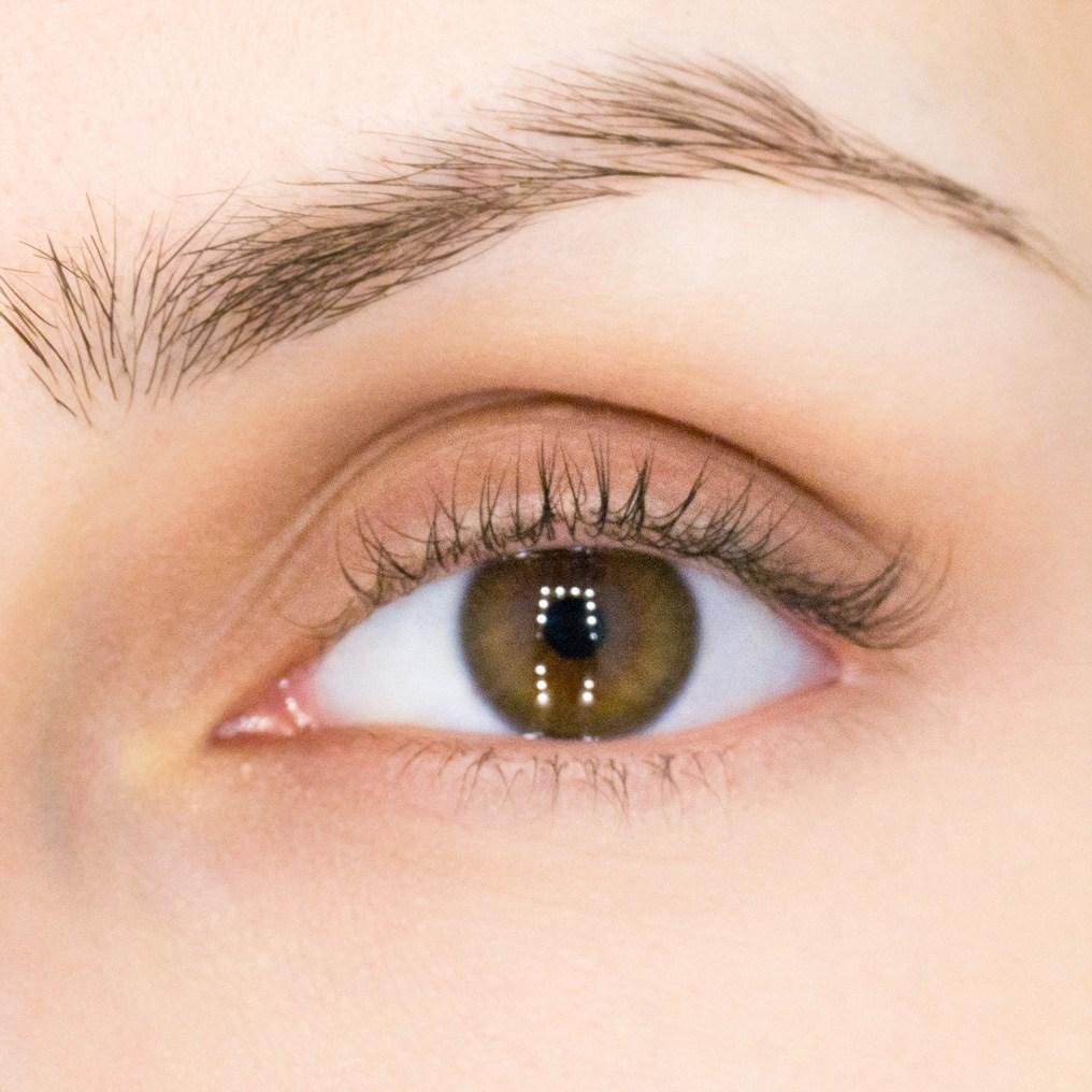 Ламинирование ресниц LVL Lashes До - The lashes