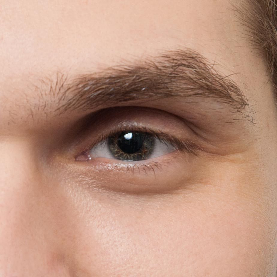 Коррекция мужских бровей фото до - The Lashes