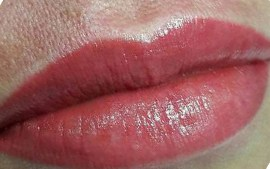 Коррекция татуажа губ фото - The Lashes