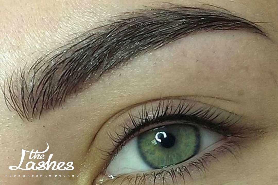 Перманентный макияж бровей - The Lashes